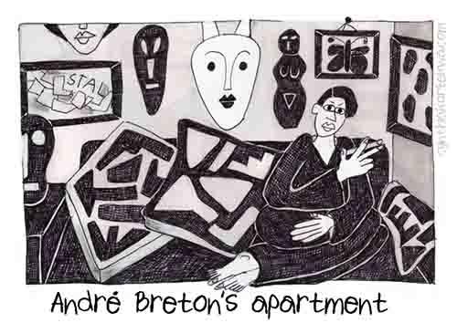 Andre Breton's Apartment