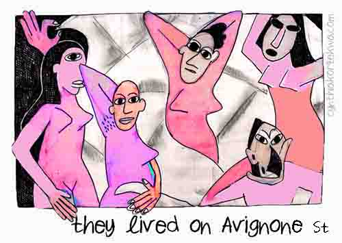 They Lived On Avignone Street