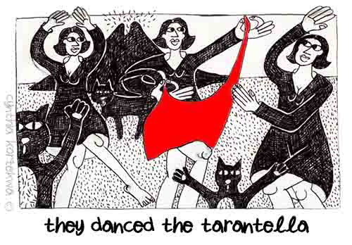 They Danced The Tarantella