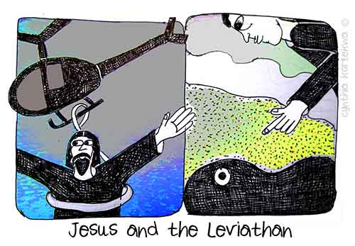 Jesus and the Leviathan