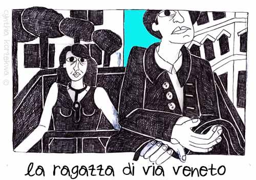 Ragazza di Via Veneto