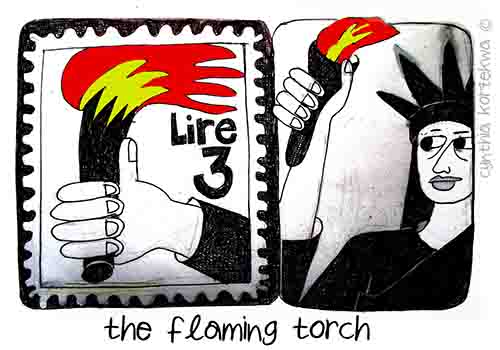 The Flaming Torch