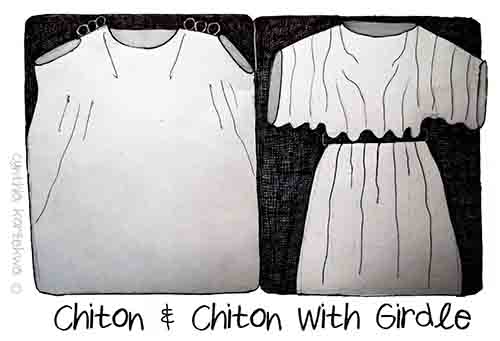 Chiton & Chiton With Girdle