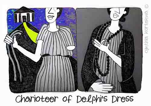 Charioteer of Delphi's Dress