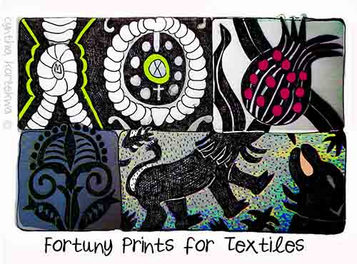 Fortuny Prints for Textiles