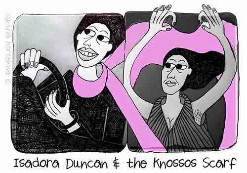 Isadora Duncan & the Knossos Scarf