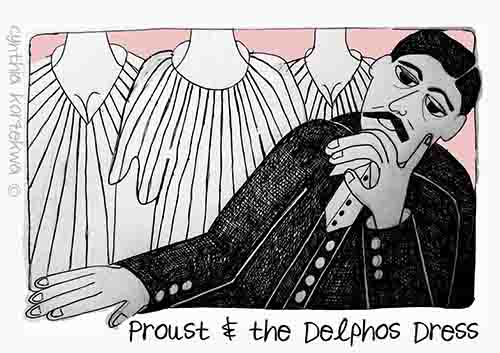 Proust & the Delphos Dress