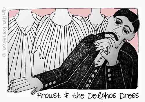 Proust & the Delphos Dress