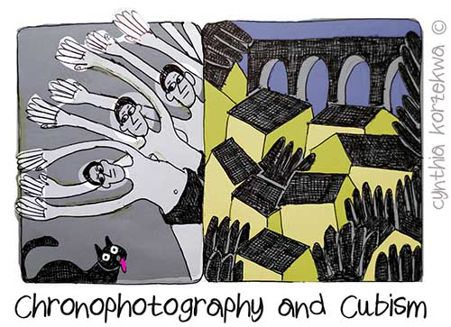 Chronophotography and Cubism