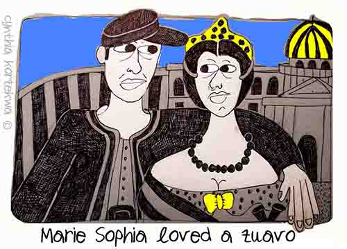 Marie Sophia loved a zuavo