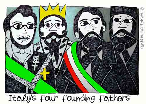 Italy's Four Forefathers
