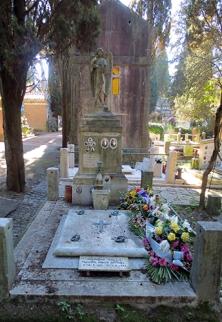 Giacomo Balla's Grave at Verano