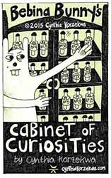 Bebina Bunny's Cabinet of Curiosities Book Cover