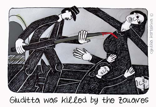 The Zuavi Killed Giuditta
