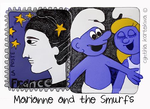 Marianne & Smurfs