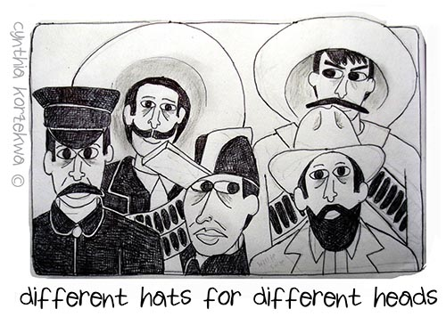 Different Hats for Different Heads