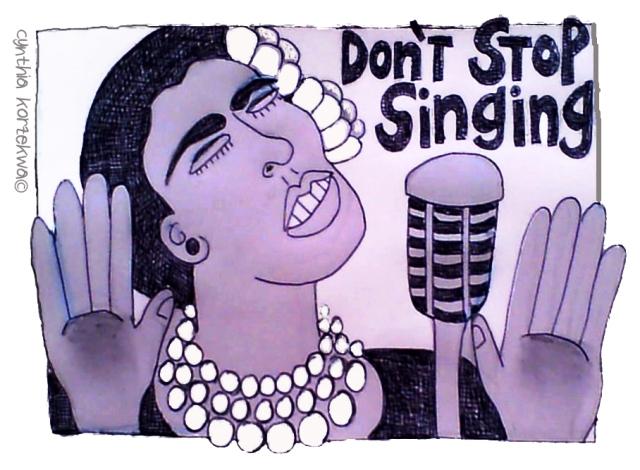 Don't Stop Singing