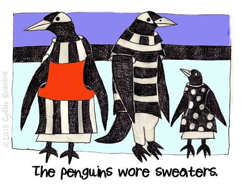 The Penguins Wore Sweaters
