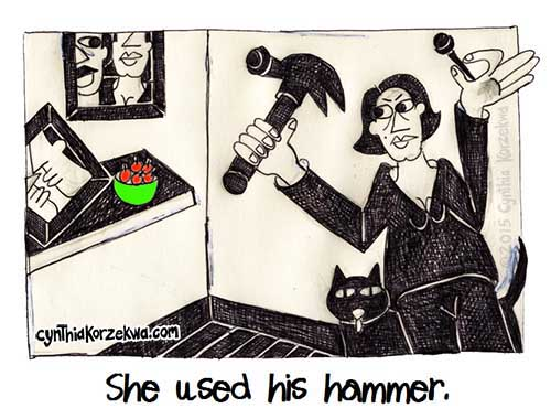 She Used His Hammer