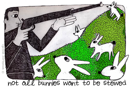 They Shot Rabbits