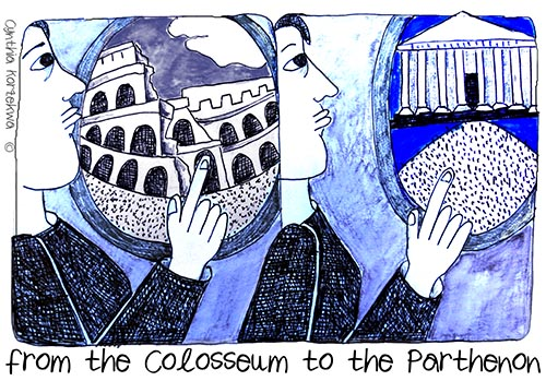 from the Colosseum to the Parthenon