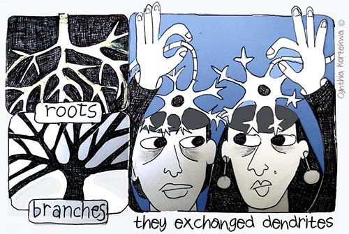 The Exchanged Dendrites