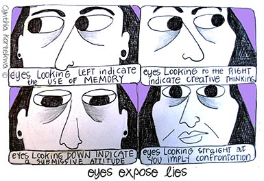 Eyes Expose Lies