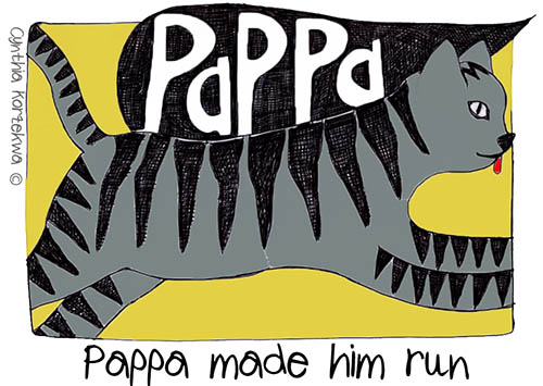 PAPPA makes him run