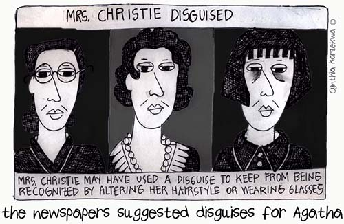 the newspapers suggested disguises for Agatha