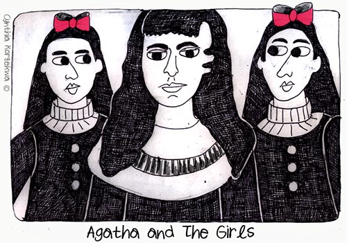 Agatha Chrisite and The Girls