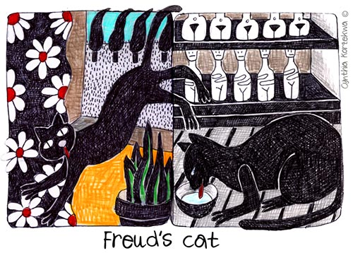 Freud's Cat