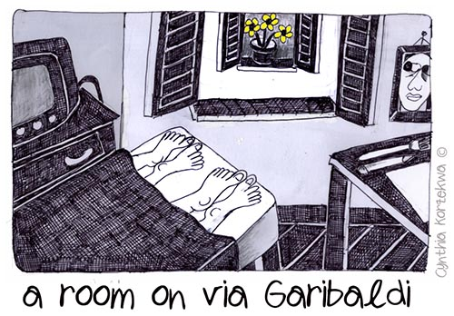 room on via Garibaldi