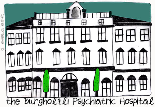 the Burgholzli Psychiatric Hospital