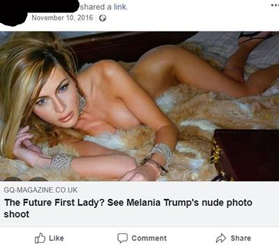 melanie naked