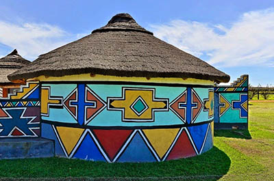 Ndebele Painted House