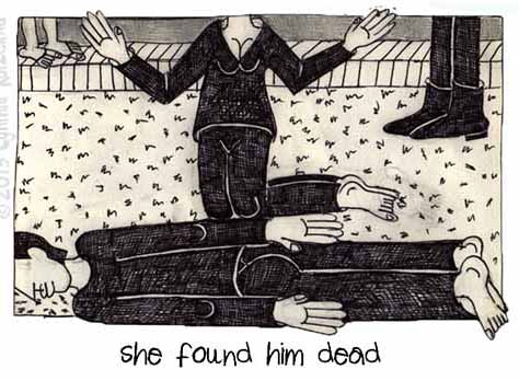 She Found Him Dead