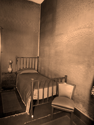 Pirandello's Bedroom