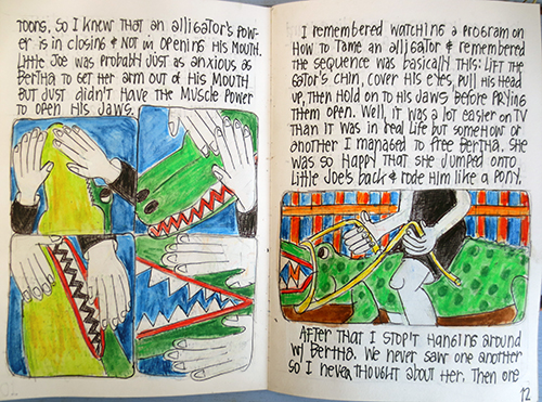 Bertha and the Alligator