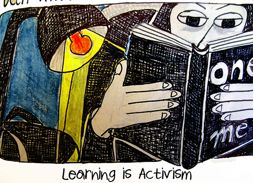 learning is activism