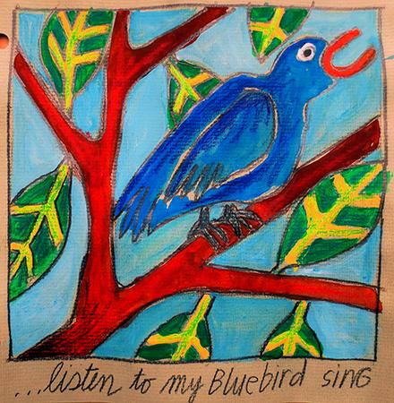 listen to my bluebird sing