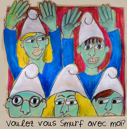 Voulez vous Smurf avec moi?