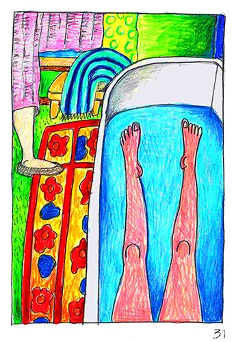 Marthe de Meligny's Towel
